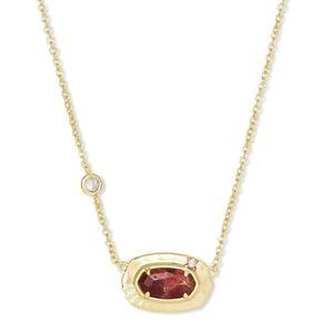 💜💓💜NEW Kendra Scott Anna Gold Pendant Necklace